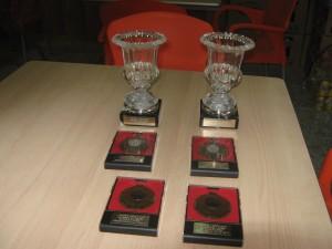 trofeos -donados por LORQUIMUR