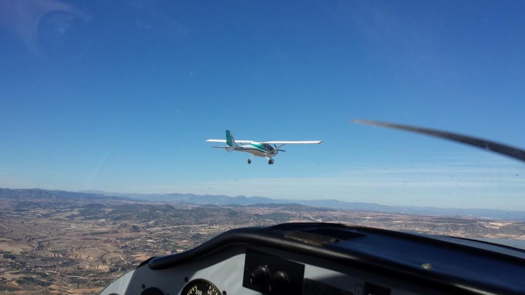 Mi Ecoflyer visto desde la Tecnam P-P96