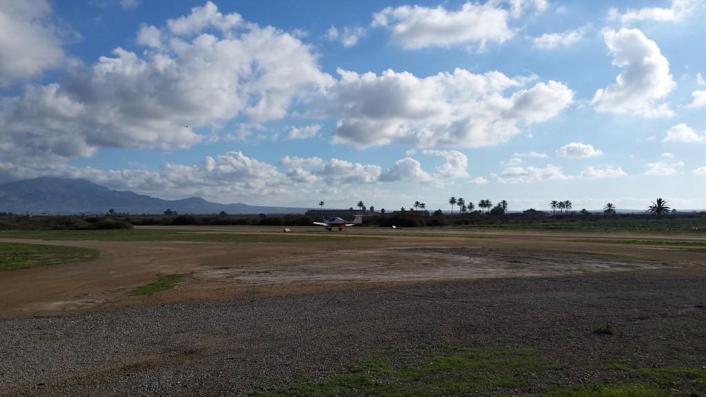 Bonita mañana sobre AeroTotana