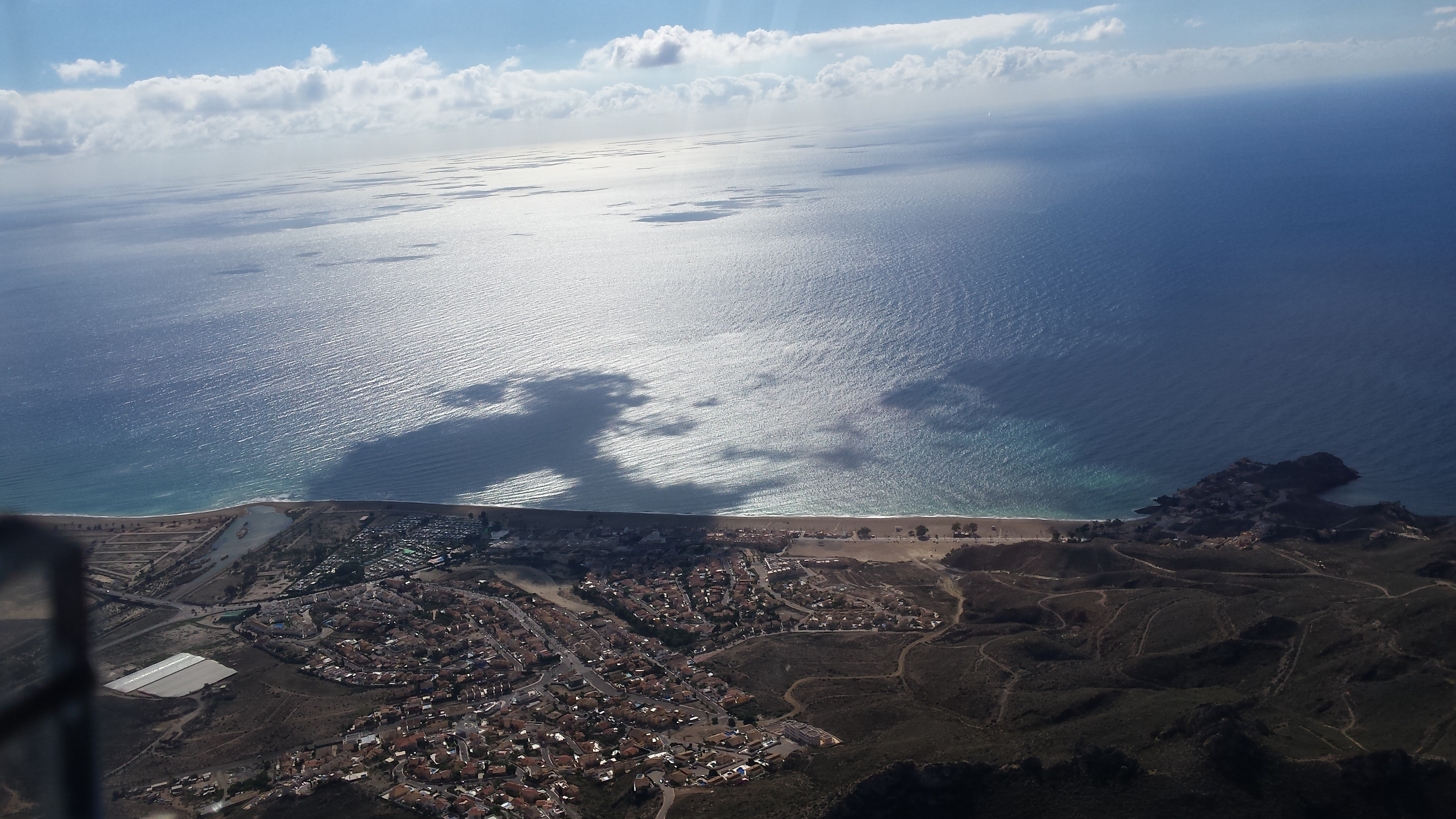 Vistas de la bahía de Mazarrón